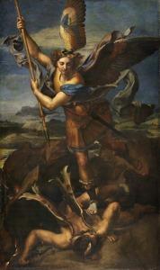 Raffaello_e_Giulio_Romano_San_Michele_sconfigge_Satana